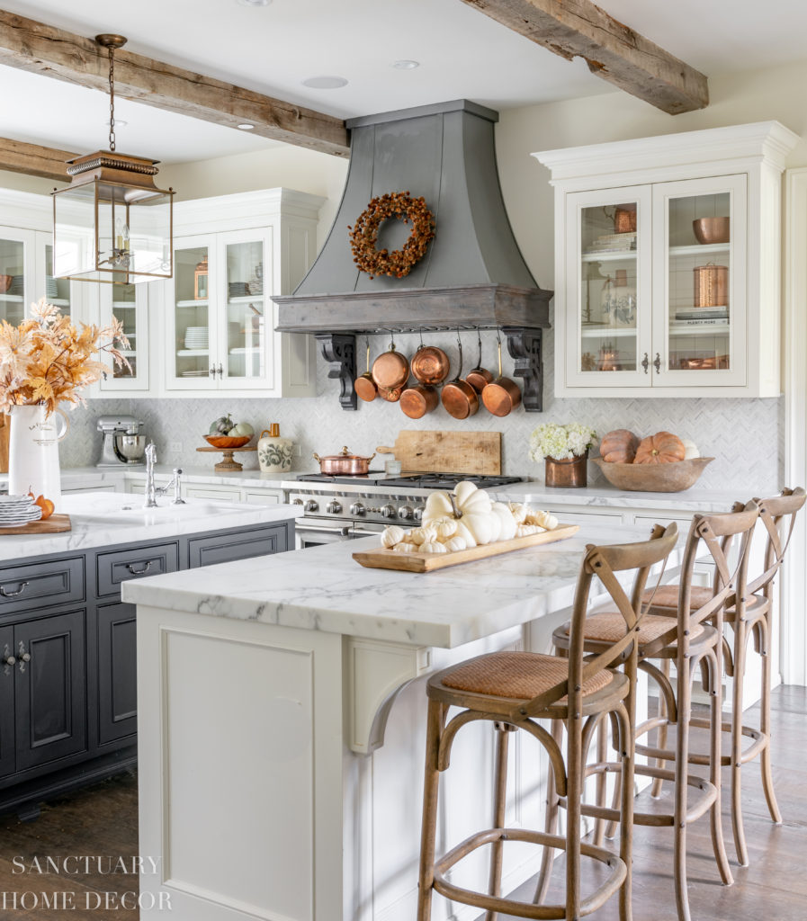 Home Interior Design Ideas For Kitchen: Farmhouse Kitchen Fall Decorating Ideas