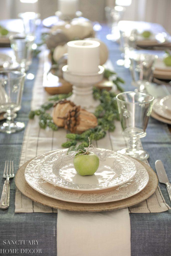 Ideas For Setting A Neutral Fall Table Sanctuary Home Decor