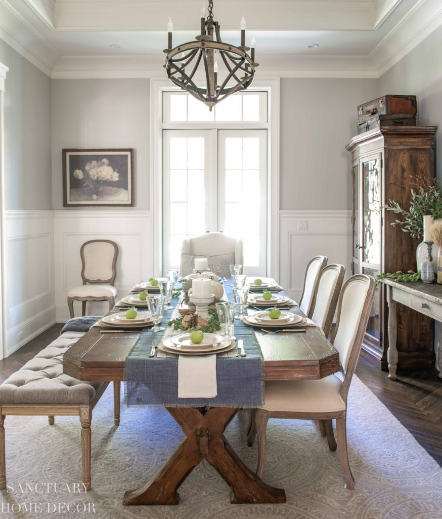 Ideas For Setting A Neutral Fall Table Sanctuary Home Decor