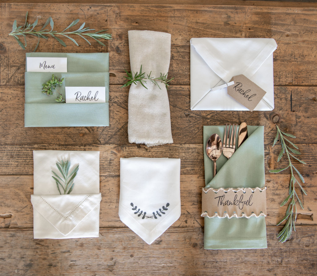 How To Fold A Thanksgiving Napkin Sanctuary Home Decor