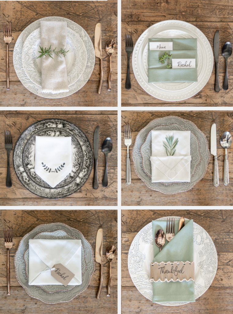 6 Ways To Fold A Napkin Sanctuary Home Decor