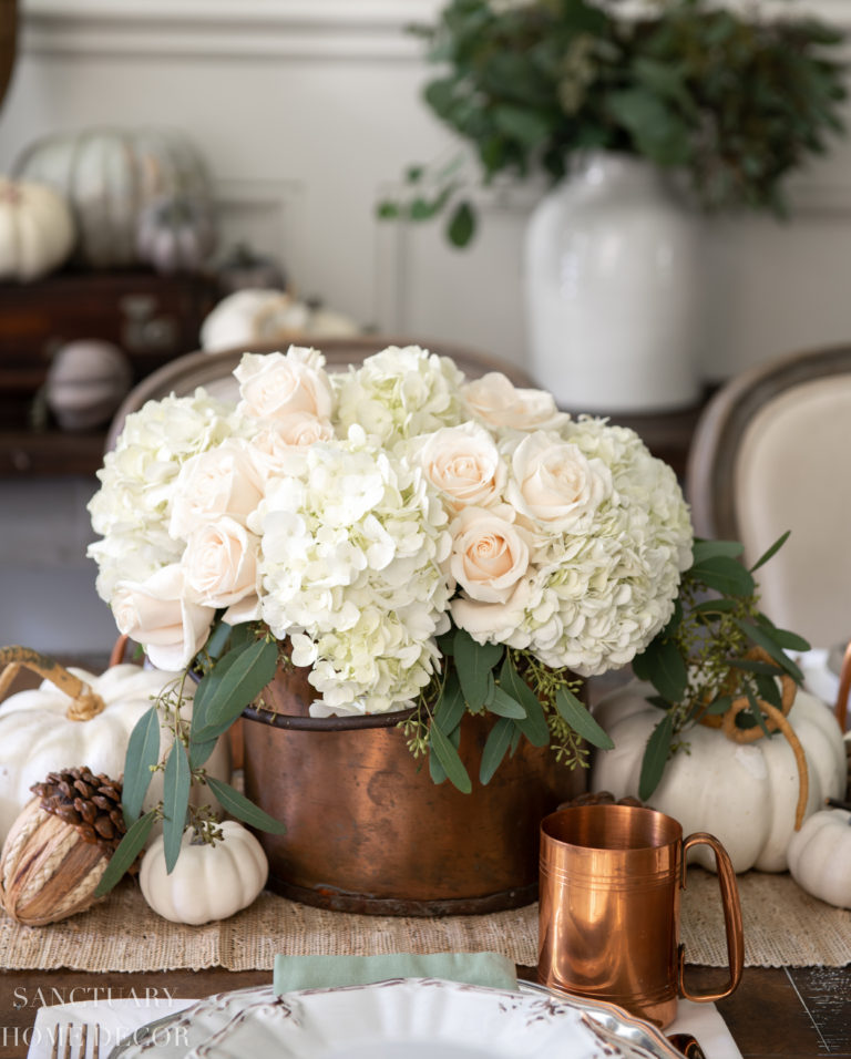 Warm Fall Colors Home Tour