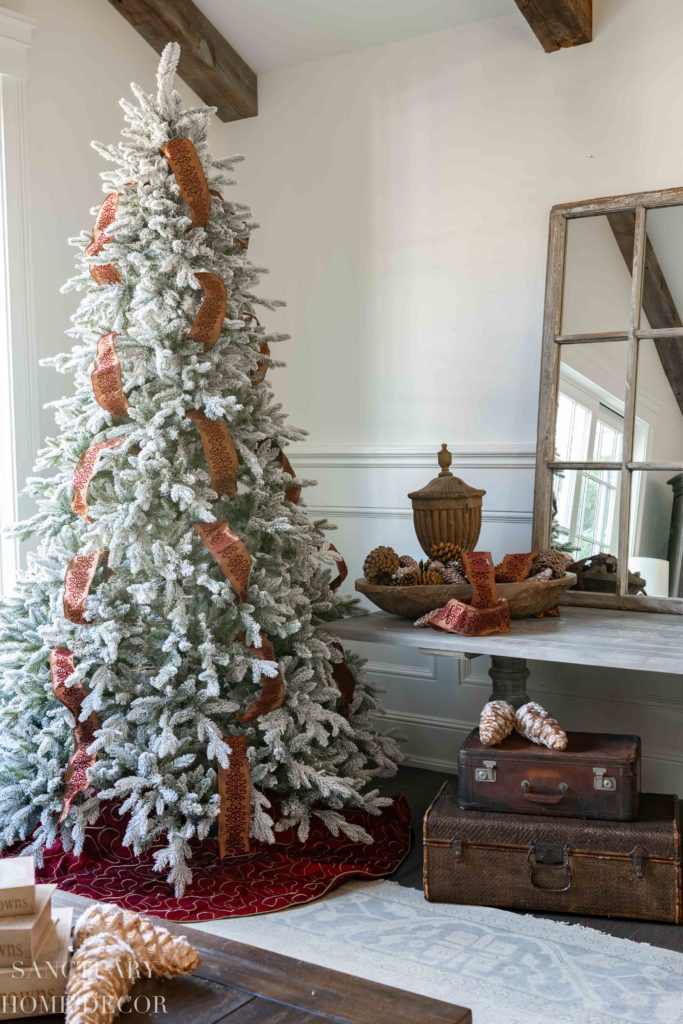Christmas Decorating Ideas in Copper +