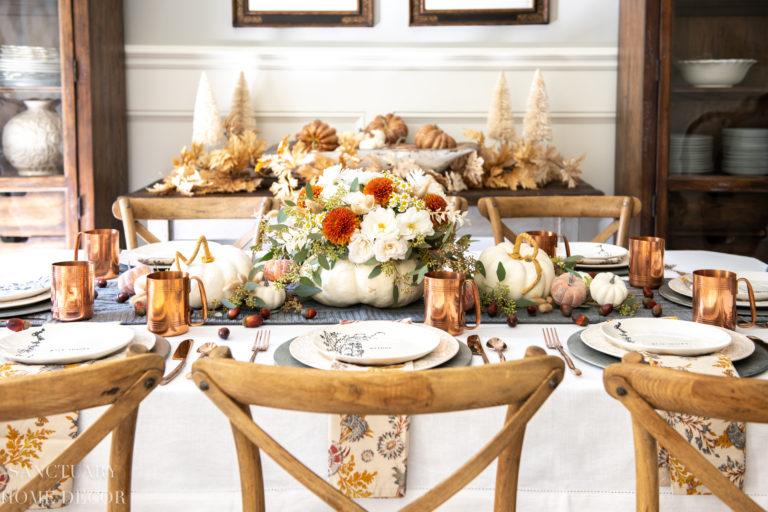 8 Thanksgiving Table Setting Ideas