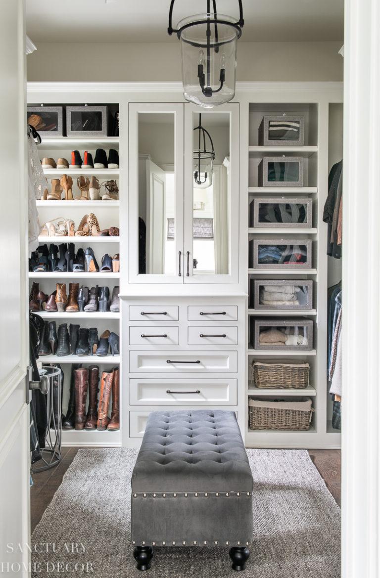 Easy DIY Closet Organizing Ideas