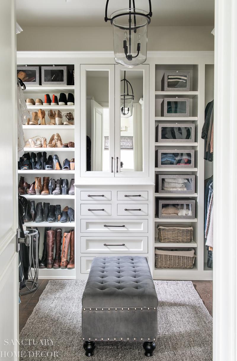 Easy DIY Closet Organizing Ideas - Sanctuary Home Decor