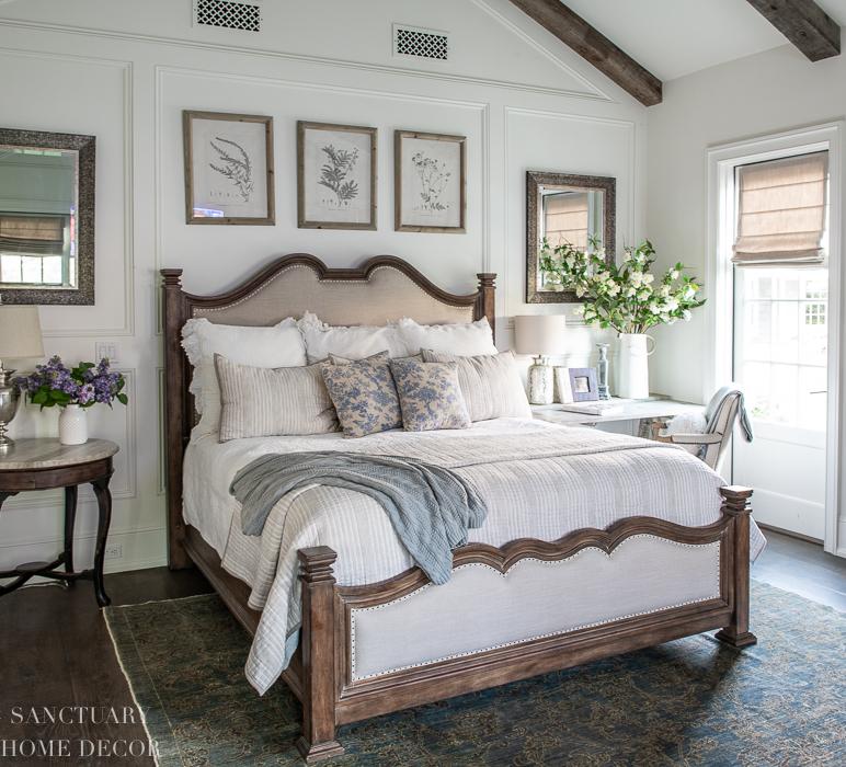 Simple Spring Bedroom Decor Sanctuary Home Decor
