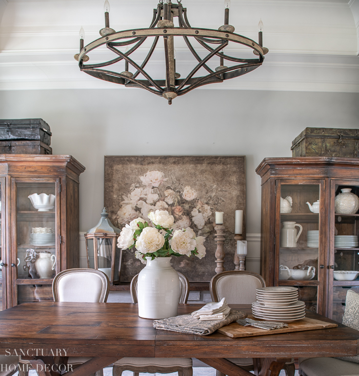 Easy Spring Dining Room Refresh, What To Replace A Dining Room With