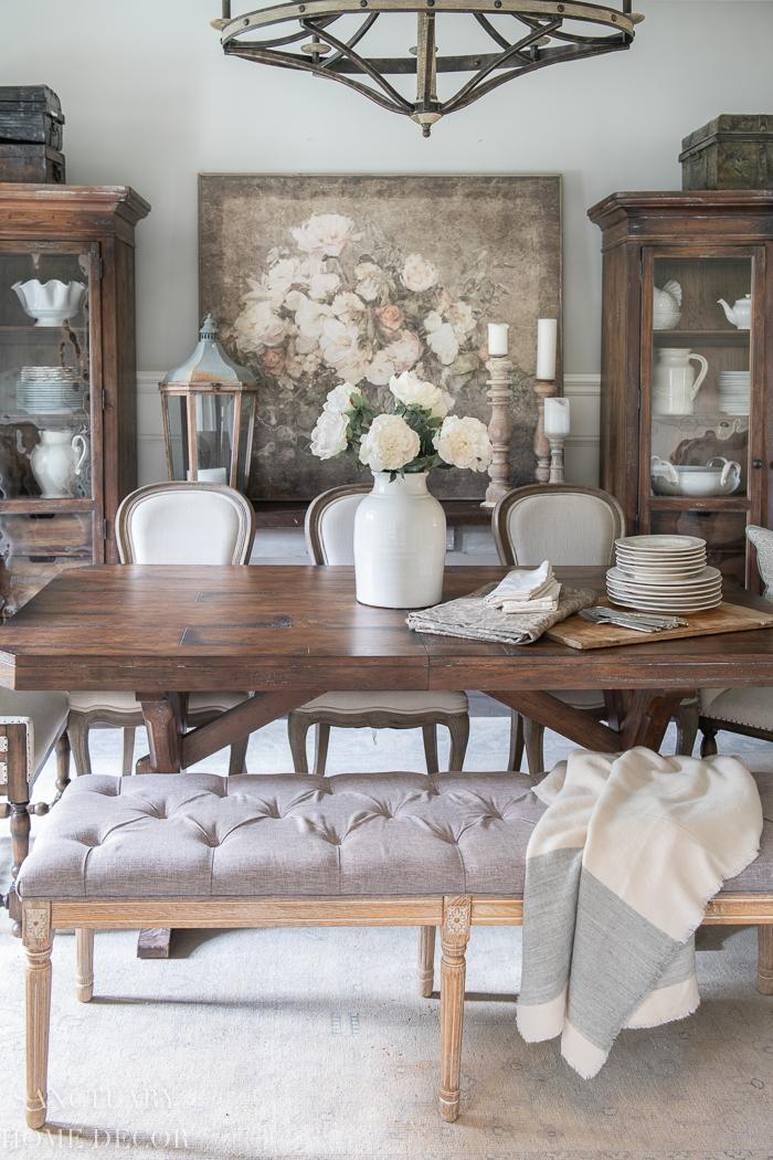 Easy Spring Dining Room Refresh