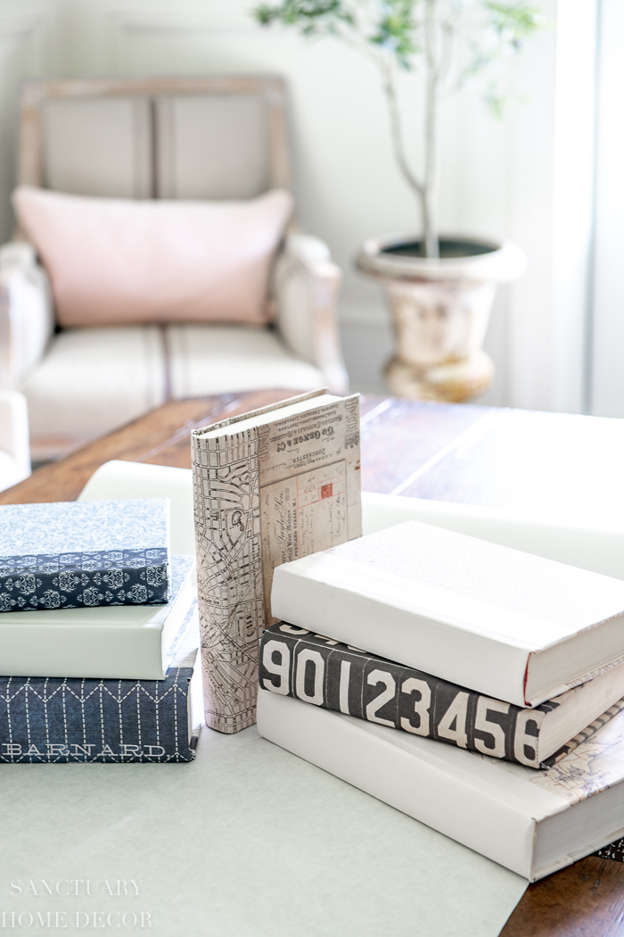 Easy DIY Decorative Book Covers