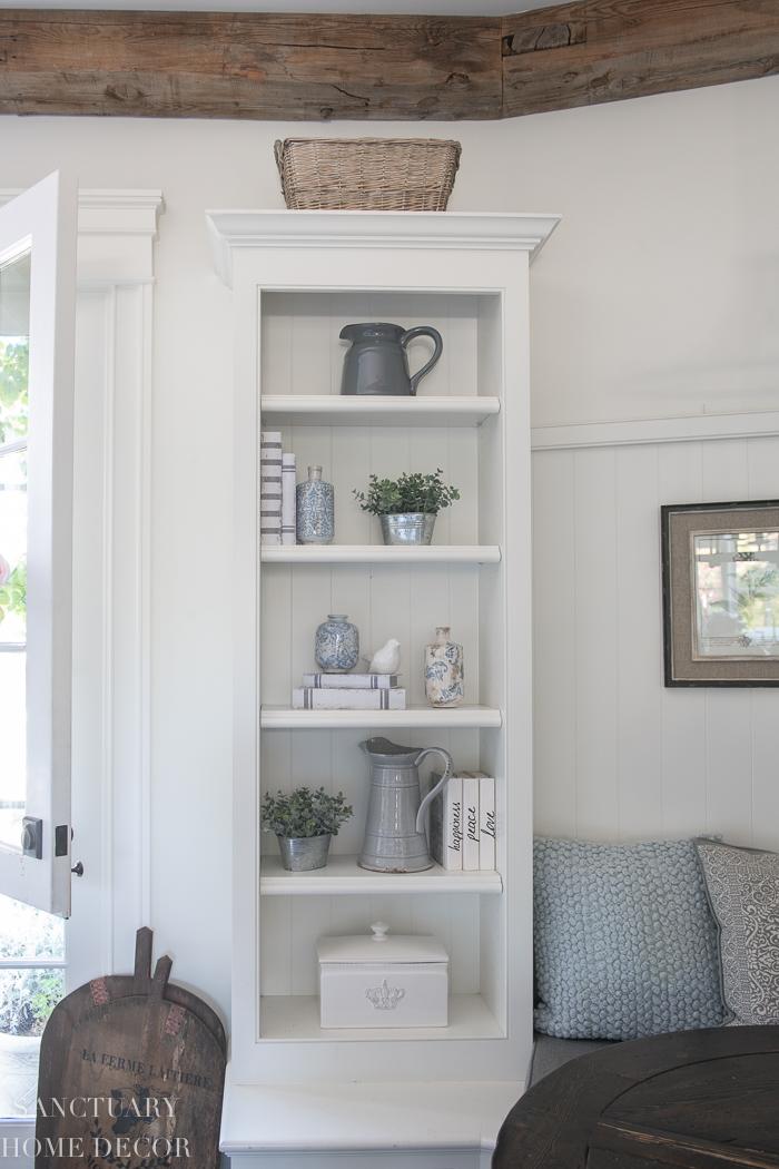 Simple Shelf Styling Tips