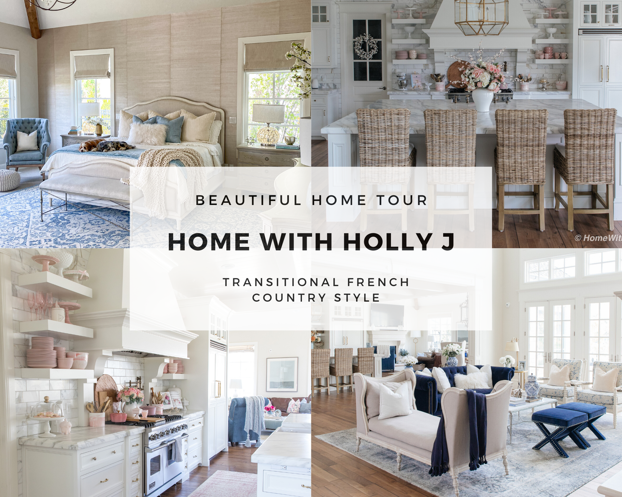 Beautiful Home Tour Home With Holly J Sanctuary Home Decor
