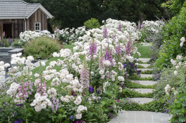 English Country Garden Tips and Decorating Ideas
