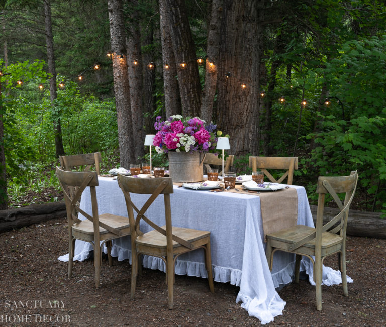 Easy Ideas For Outdoor Summer Dining