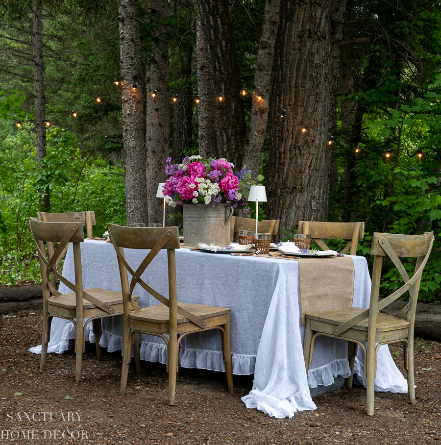 Easy Ideas For Outdoor Summer Dining Sanctuary Home Decor