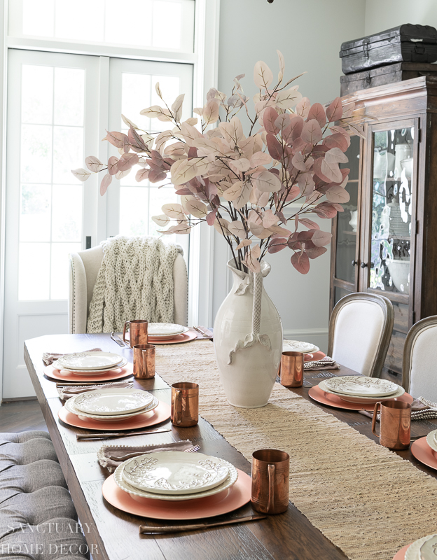 How to Set a Simple Fall Table
