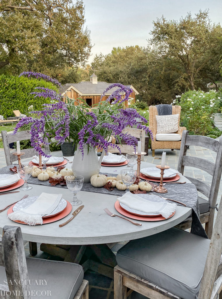 5 Steps To Set An Outdoor Thanksgiving Table Sanctuary Home Decor