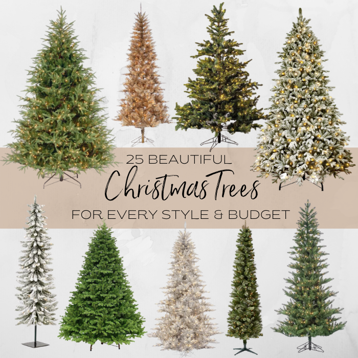 25 Beautiful Christmas Trees For Every Style