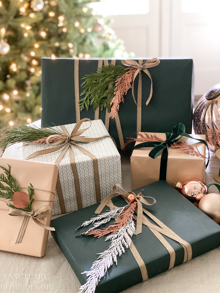 Unique Christmas Gift Wrapping on a Budget
