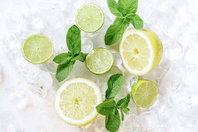 Grapefruit Lime Seltzers