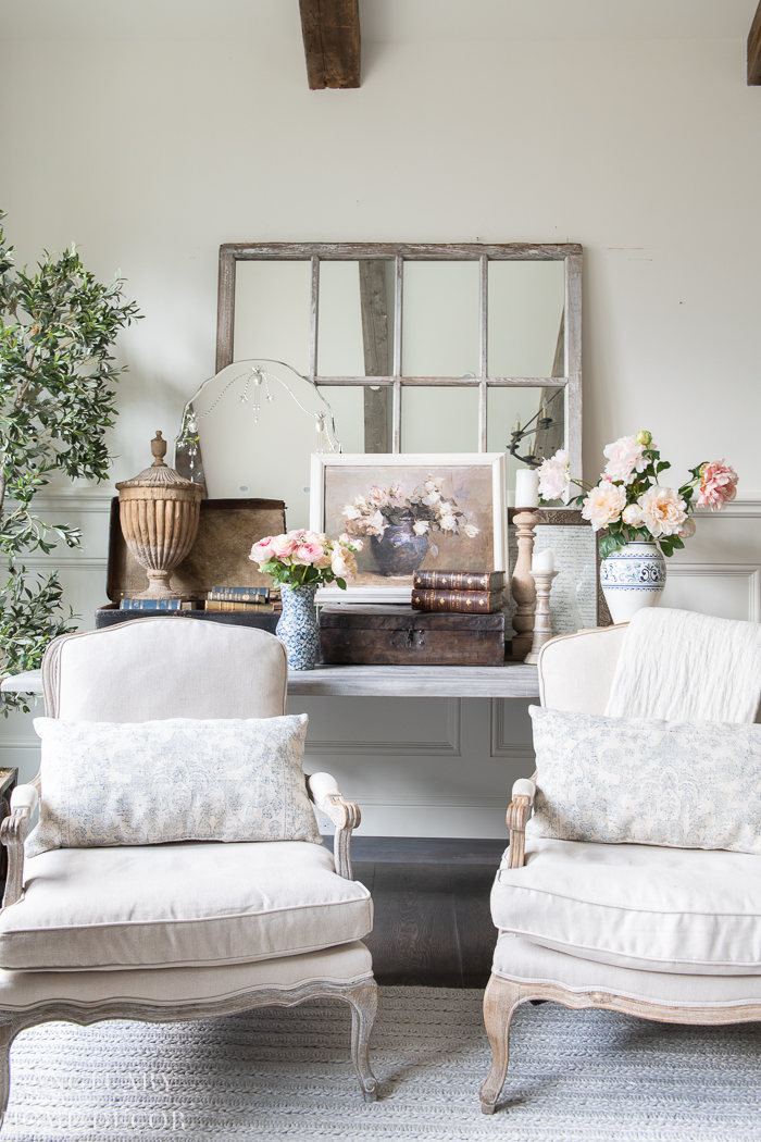 How to Style a Layered Table Vignette