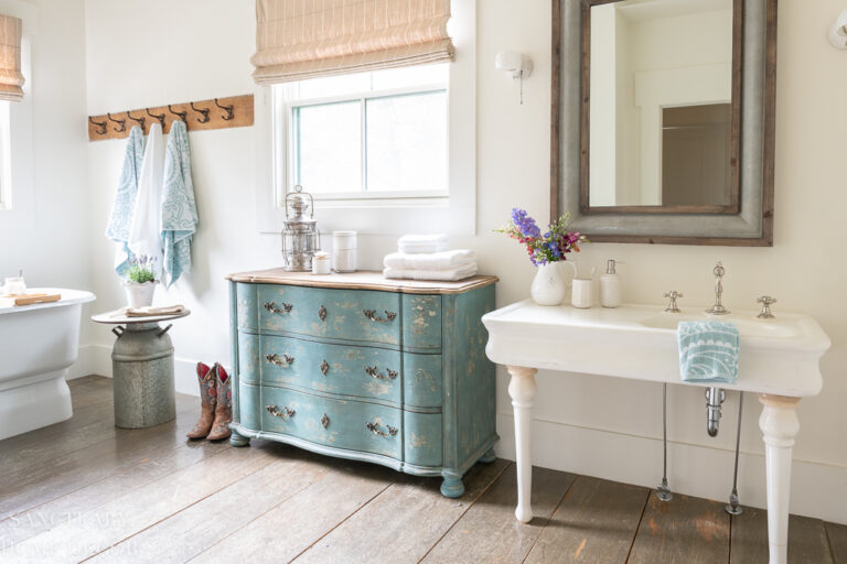 How to Create A Spa Style Guest Bathroom